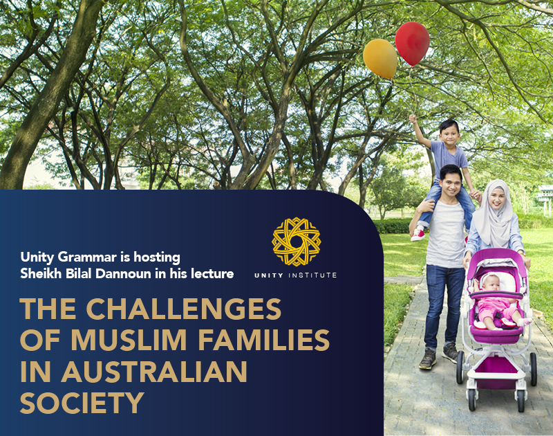 The Challenges of Muslim Families Website Imge